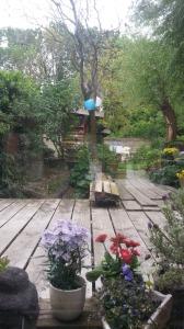 tuin vanaf steiger